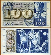 Switzerland, 100 Francs, 1963, P-49 (49e),  UNC > Free shipping worldwide