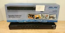 New listing Avx Audio 6 Zone Stereo Speaker Selector Switch With Impedance Protection