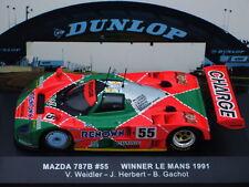 1/43 IXO MAZDA 787B #55 WINNER LE MANS 1991