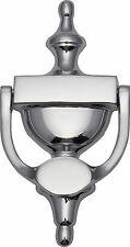 Urn Door Knocker Polished Chrome 170mm - uPVC or Timber - Traditional UK Quality