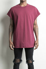 Daniel Patrick Men's Muscle Tee EXTRA LARGE XL Maroon Free Shipping