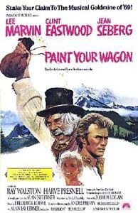 'Paint Your Wagon'  FILM POSTER  FRIDGE MAGNET