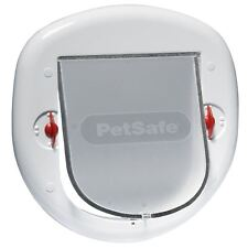 Petsafe Staywell GRAND CHAT / Petit Chien Animal De Compagnie Clapet Blanc,