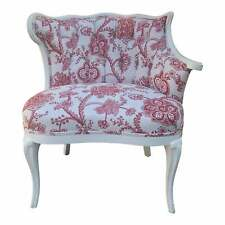 Hollywood Regency Style Paint Decorated Club Chair