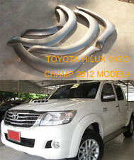 FOR Toyota Hilux Vigo Champ Mk7 12-14 Workmate Fender Flares Wheel Arch Arches 6