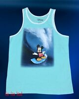 New Disney Mickey Mouse Surfing Mens T-shirt Tank Top