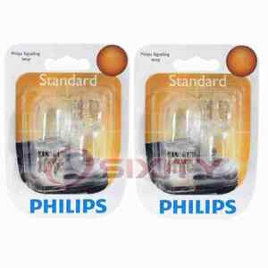 2 pc Philips Rear Side Marker Light Bulbs for Nissan Juke March Micra Note fl
