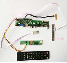 TV AV remote HDMI USB VGA LCD Controller board Kit for N141I3-L05 1280X800 Scree