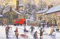 Christmas Jigsaw Puzzle Festive Village 1000 Pieces - New & Boxed