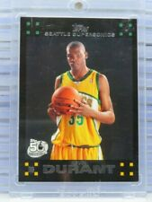 2007-08 Topps Kevin Durant Rookie Card RC #112 Supersonics Nets (B) E94