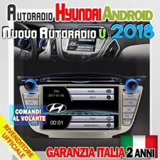 "AUTORADIO 7"" Navigatore GPS Radio HYUNDAI IX35 TUCSON 2009-2015 Screen Mirror..."