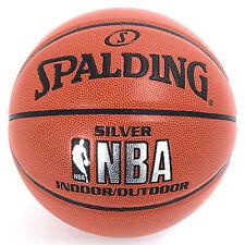 """Spalding NBA Silver Basketball Official Game Ball Size 7 / 29.5"""" 74-556Z"""