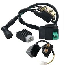Solenoid + Coil + CDI UNIT + Regulator 110cc 125cc PIT Quad Dirt Bike ATV Buggy