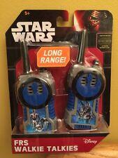 Star Wars Walkie Talkies RFS Long Range Frequency. New