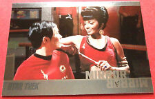 "STAR TREK TOS 50th Anniversary - MM36 ""MIRROR, MIRROR"" (uncut) - Foil Chase Card"