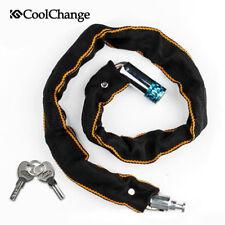 CoolChange Cycling Key Lock Folding Bike Motorcycle Bicycle Chain Lock Security