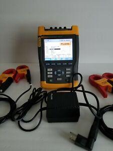 Fluke 434 Three Phase Power Quality Analyzer With Transients And Interharmonics