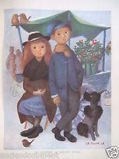 """DESSIN DE PRESSE 1948 """" LES ANONYMES """"  par PHILIPPE NOYER"""