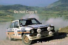 El Señor Vatanen nos Ford Escort RS1800 ganador Acrópolis Rally 1981 fotografía 1