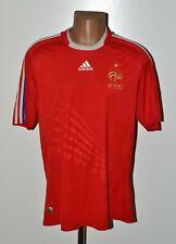 FRANCE NATIONAL TEAM 2008/2009 AWAY FOOTBALL SHIRT JERSEY ADIDAS SIZE L ADULT