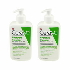 2x CeraVe Face & Body Hydrating Cleanser 355ml With Hyaluronic Acid & Ceramides