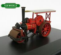 BNIB OO GAUGE OXFORD DIECAST 1:76 76FSR006 Fowler Steam Roller L B Donn & Son