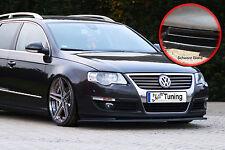 Spoilerschwert Frontspoiler Lippe ABS für VW Passat 3C B6 ABE schwarz glänzend