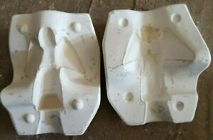 ceramic mold, wide wing angel