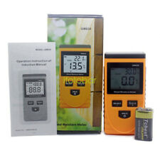 Handheld Digital LCD Induction Wood Moisture Meter tester Measure 0~50% GM630 UK