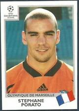 PANINI UEFA CHAMPIONS LEAGUE 1999-00- #138-MARSEILLE-STEPHANE PORATO