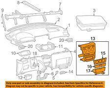 TOYOTA OEM 05-06 Corolla Instrument Panel Dash-Center Bezel Trim 5542002261