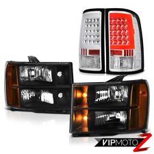 "08-14 Gmc Sierra 2500 SL Tail Lights Headlamps Neon Tube ""Lava Tube"" Tron Style"