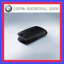 Original BMW Schlüsseletui Etui Key Case Leder Schwarz 100% ORIGINAL