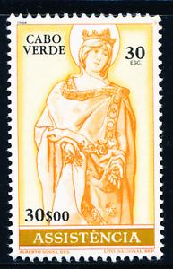 Cabo Verde - 1984 - Postal Tax Stamp - St. Isabel - 30$00 - MNG