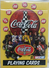Coca-Cola Nascar Playing Cards Racing Stock Race Cars NEW!