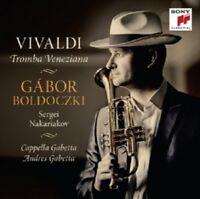VIVALDI- TROMBA VENEZIANA-GABOR BOLDOCZKI - CD NEW+