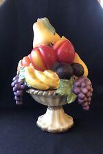 PartyLite Tealight Candle Holder Fruit Medley Vtg