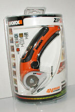 ZIP SNIP WORX MODEL WX081L 4V MAX LITHIUM POWER RECHARGEABLE CUTTER CUTTING TOOL