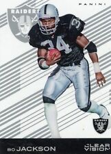 BO JACKSON #42 Raiders / AUBURN RB  2015 Panini Clear Vision Football Acetate