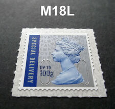NEW 2018 SPECIAL DELIVERY 100g M18L MACHIN SINGLE from Walsall Counter Sheet
