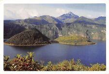 B95582 cotacachi ecuador laguna de los dioses y cerro catacachi