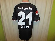 "Eintracht Frankfurt Jako Ausweich Trikot 2010/11 ""FRAPORT"" + Nr.21 Gekas Gr.M"