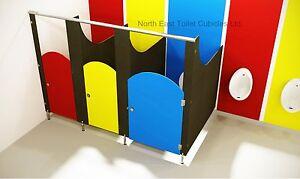 Toilet Cubicles & Fittings - 3 Corner Cubicles