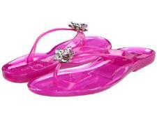 Guess Neno thong sandal pink transparent sz 8 Med NEW