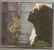 "MARY CHAPIN CARPENTER, CD ""A PLACE IN THE WORLD"" NEW"