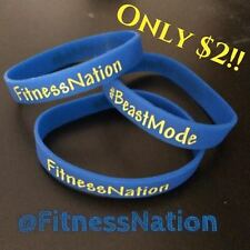 FitnessnNation and #Beastmode wristband!