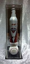 2012 San Francisco Giants Budwiser Aluminum Bottle & Baseball DISPLAY CASE ONLY