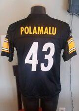 488d31e21 Troy Polamalu Pittsburgh Steelers Jersey Youth Large Reebok NFL
