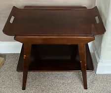 Remploy Vintage Mid-Century 2 Tier Tea Trolley /Cake Trolley With Removable Tray