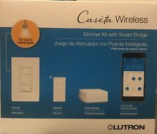 Caseta Wireless Dimmer Kit with Smart Bridge